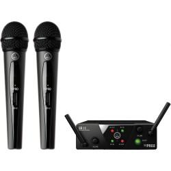 Двоен безжичен микрофон AKG WMS 40 Mini Dual Vocal