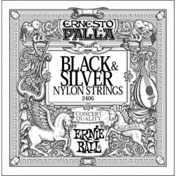 Черни найлонови струни за китара: ERNIE BALL 2406