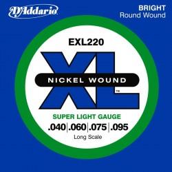Струни за електрически бас:D'addario EXL 220