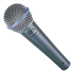 Вокален микрофон : SHURE BETA 58A