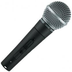 Вокален микрофон : SHURE SM58SE
