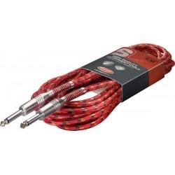 Инструментален кабел :STAGG SGC6VT RD