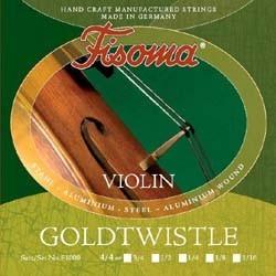 Струни за цигулка 4/4 : Fisoma Goldtwistle