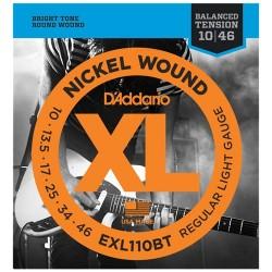 Струни 10/46 : DAddario EXL110BT