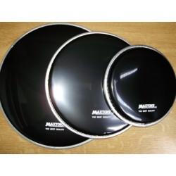 """Кожи за рототоми  комплект:Maxtone 6"""",8"""",10"""" черни"""