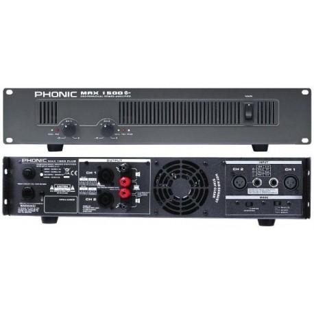 Усилвател Phonic MAX 1500 Plus