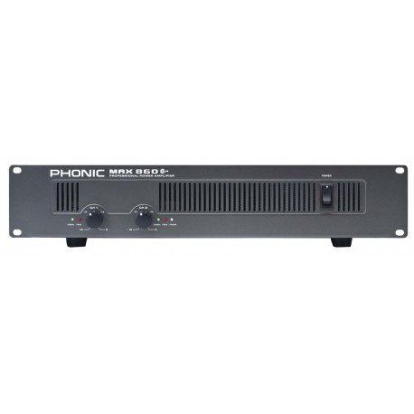 Усилвател Phonic MAX 860 Plus