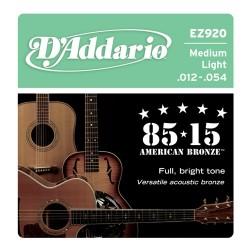 Струни 12/54 : DAddario EZ920
