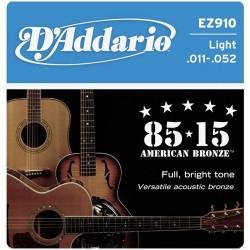 Струни 11/52 : DAddario EZ910