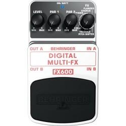 Мултиефект процесор- педал BEHRINGER FX600