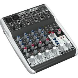 Миксер с MP3 Player: BEHRINGER XENYX QX602MP3