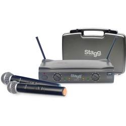 Двоен безжичен микрофон : STAGG SUW50 MM EG
