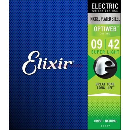 Струни за електрическа китара:ELIXIR 19002