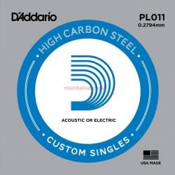 Единична струна : D'Addario PL011-5