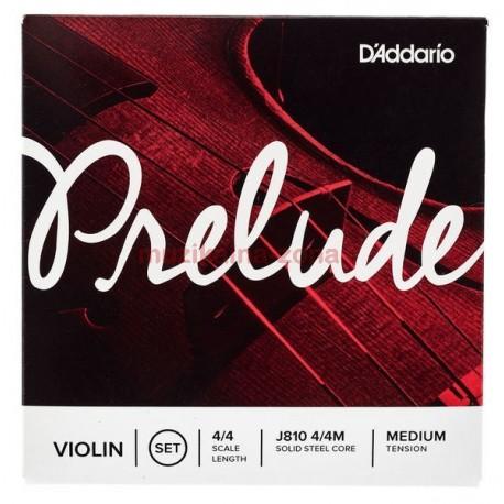 Струни за цигулка D'ADDARIO J810 4/4M