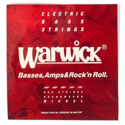 Струни за 5 струнна бас китара:Warwick 46300