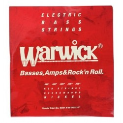 Струни за 5 струнна бас китара:Warwick 46301