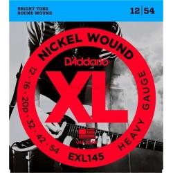 Струни 12/54 : DAddario EXL145