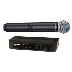 Безжичен вокален микрофон :SHURE BLX24E/B58-K3E