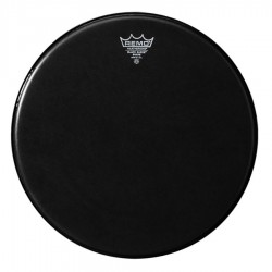 Черна кожа за барабан: REMO ES-0014-00