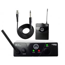 Инструментален безжичен микрофон:AKG WMS40 Mini instrumental set