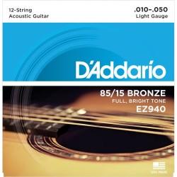 Струни за 12стр. китара: D'Addario EZ940