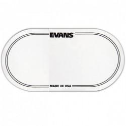 Двойна лепенка за бас барабан:EVANS EQPC2