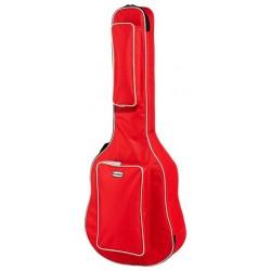 Калъф за акустична китара / червен / : AC GIGBAG RD