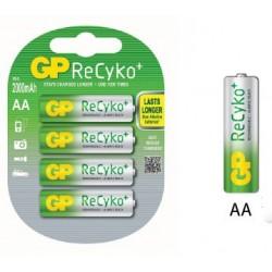 Акумулаторни батерии:GP RECYKO AA2000