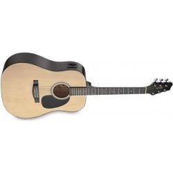 Електро-акустична китара: Stagg SW201N-VT