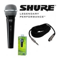 Вокален микрофон : SHURE SV100