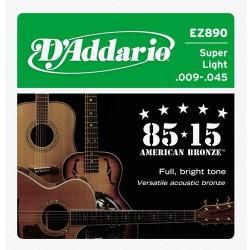 Струни 9/45 : DAddario EZ890