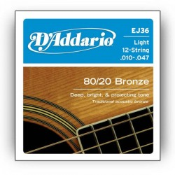 Струни 10/47 : DAddario EJ36