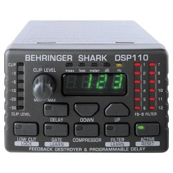 Контролер: BEHRINGER DSP110 SHARK