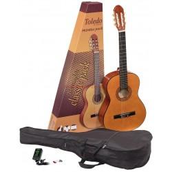 Класическа китара с калъф : TOLEDO PRIMERA PACK
