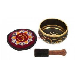 Подаръчен комплект тибетска пееща купа: Singing Bowl Box Set S