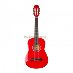 Класическа китара червена: STARTONE CG-851 3/4 RD