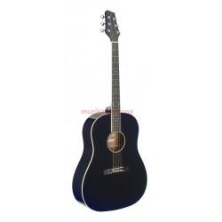 Акустична китара черна STAGG SA35 DS-BK