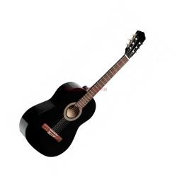 Класическа китара с калъф: STAGG SCL 50 BLK