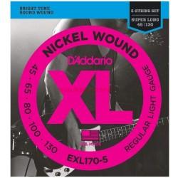 Струни за електрически бас:D'addario EXL 170-5