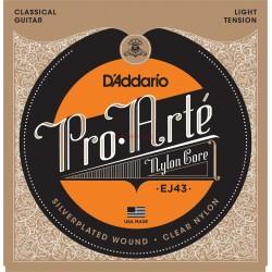 Найлонови струни за китара : D'Addario EJ43