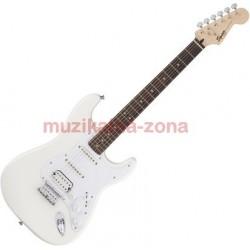 Електрическа китара бяла Squier Bullet Stratocaster HSS HT Arctic White